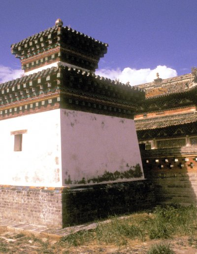 karakorum_erdene zuu khiid_dalai lama sum_courtyard