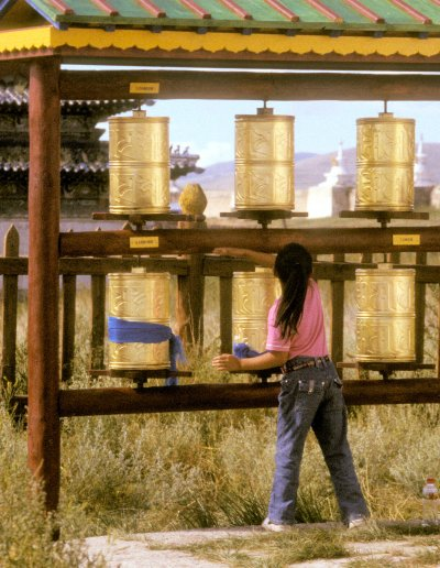 karakorum_erdene zuu khiid_prayer wheels_2