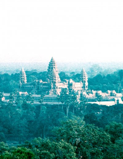 siem reap_angkor wat_overview at dusk