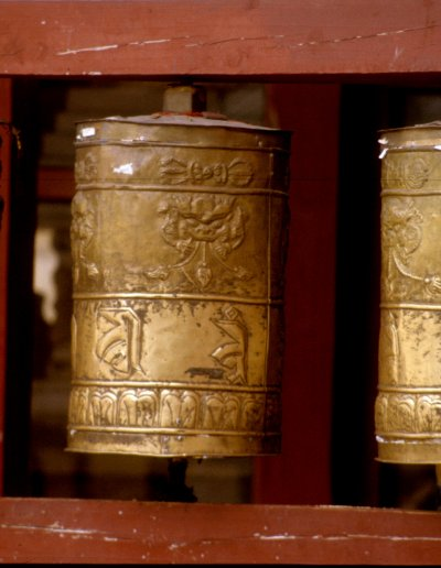 ulan bataar_ganden monastery_prayer wheels