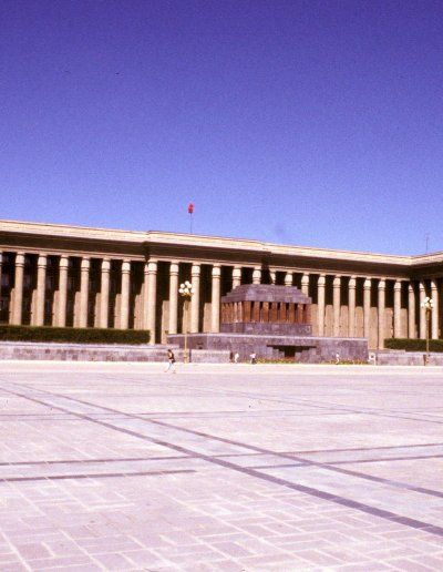 ulan bataar_sukhbaatar square_parliament house and mausoleum