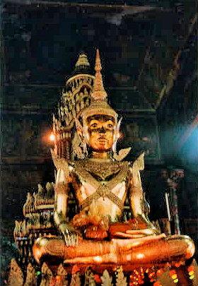 vientiane_wat pha kaew_buddha image