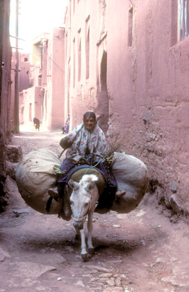 abyaneh_street traffic