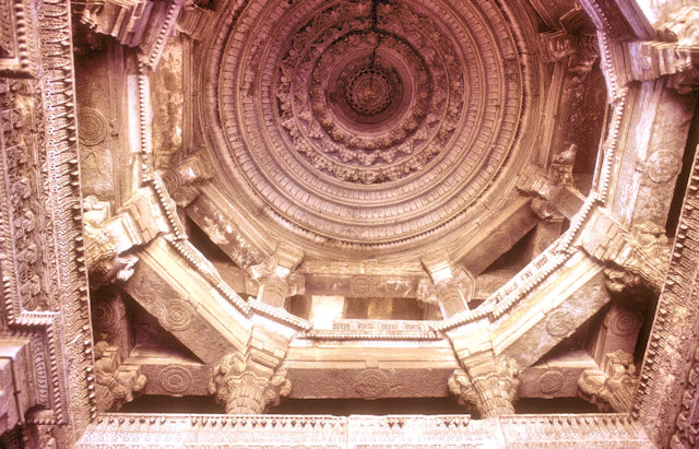 ahmedabad_jami masjid_ceiling