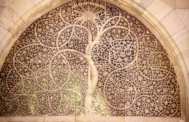 ahmedabad_siddi saiyad's mosque_tree of life jali