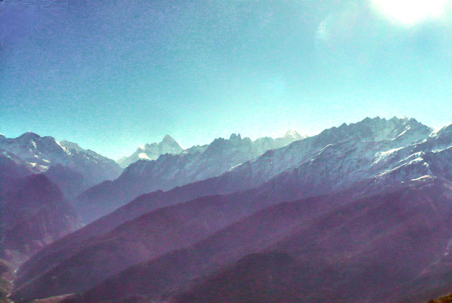 auli_nanda devi and surrounding peaks