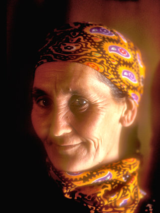 bokdurak_turkmen lady