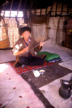 bokdurak_turkmen musician