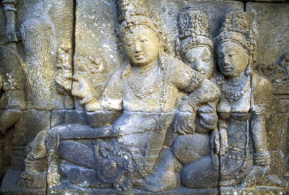 borobodur_wall relief