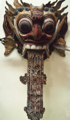 denpasar_bali museum_mask