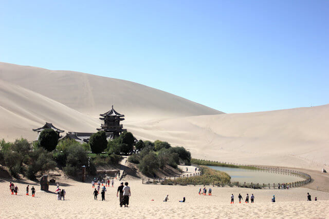 dunhuang_mingsha sand dunes_2