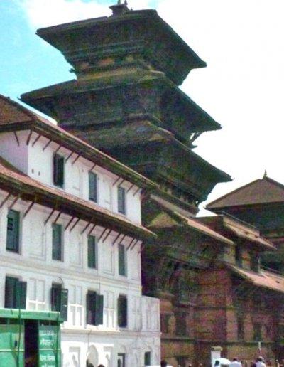durbar square_basantapur tower and patan tower