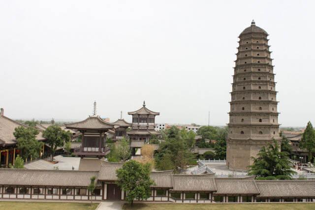 famen_temple complex