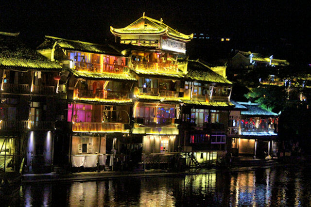 fenghuang_night illumination