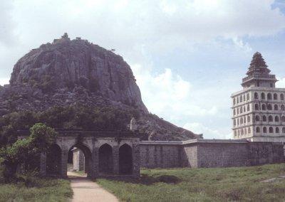 gingee_kalyana mahal and rajagiri hill