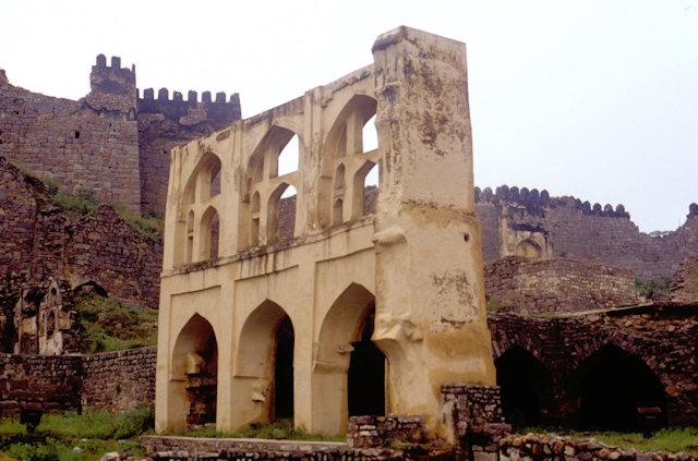 golconda_fortress_bala hissar complex_2