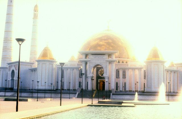 gypjak_turkmenbashy ruhy mosque