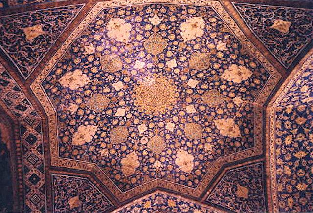 isfahan_masjid-e shah_ceiling