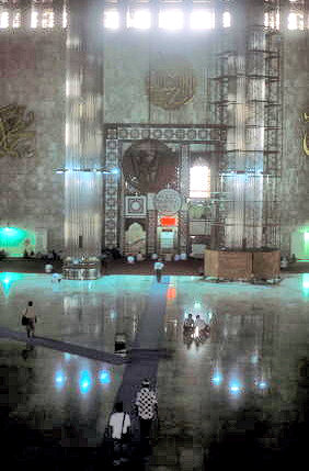 jakarta_istiqlal mosque_prayer hall