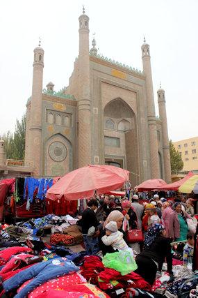 karghilik_jami masjid and bazaar