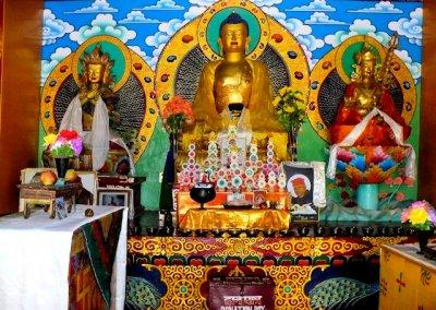 keylong_drugpa gompa_shrine