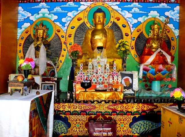 keylong_drugpa gompa_shrine