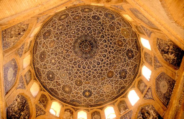 konye urgench_mausoleum of turabeg khanum_dome_interior