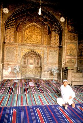 lahore_wazir khan mosque_mihrab