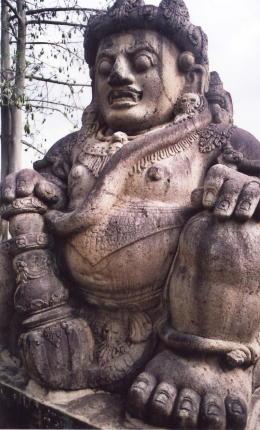 malang_candi singosari_guardian figure