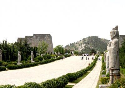 qian_qian ling mausoleum complex