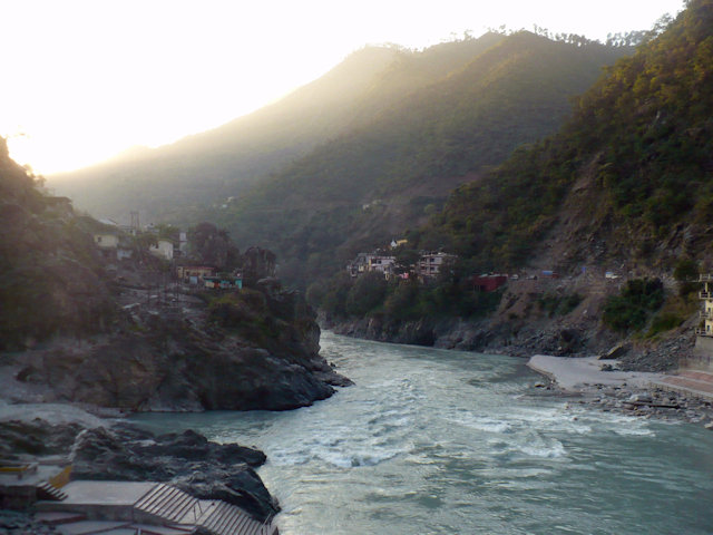 rudraprayag_confluence of alaknanda and mandakini rivers