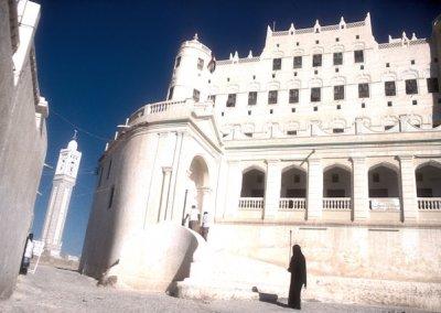 say'un_sultan's palace and minaret