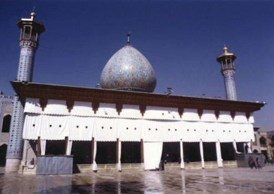 shiraz_tomb of shah-e cheragh