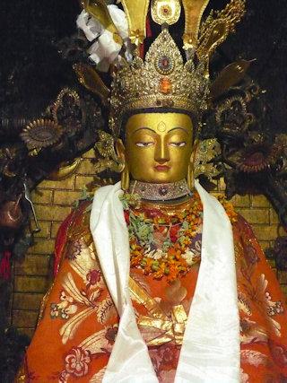 swayambhunath_buddha image