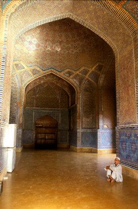 thatta_shah jahan's mosque_interior_2