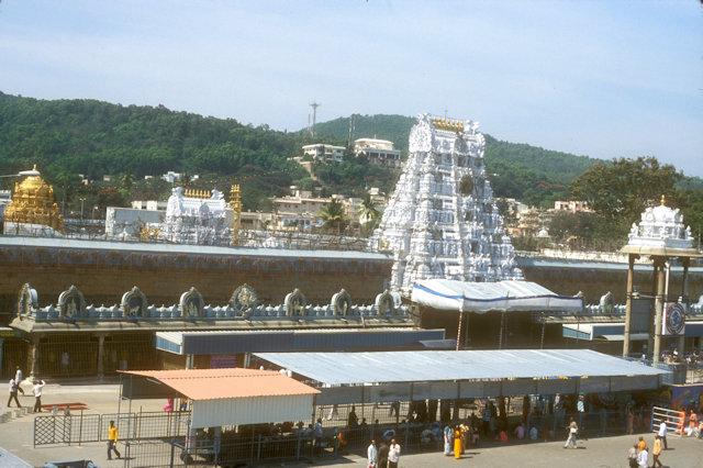 tirupati_sri venkateshvara temple_overview