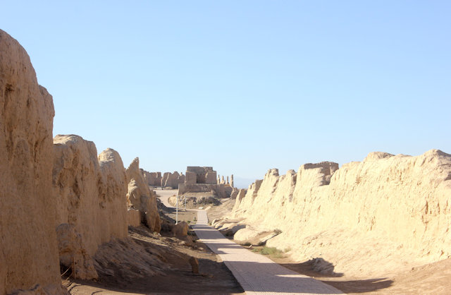 turfan_jiaohe ancient city