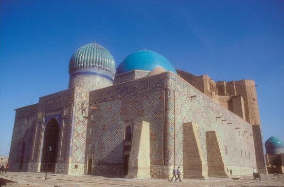 turkestan_khodja yasawi mausoleum_1