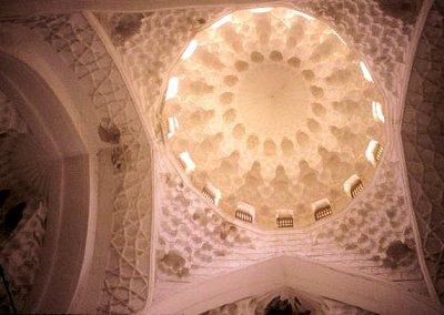 turkestan_khodja yasawi mausoleum_dome_interior