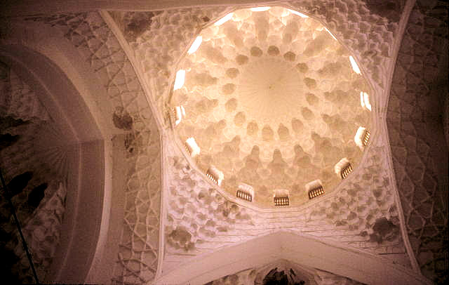 turkestan_khodja yasawi mausoleum_dome_interior