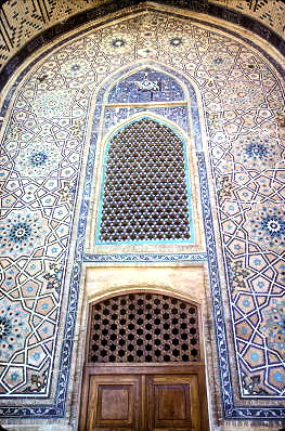 turkestan_khodja yasawi mausoleum_portal decoration