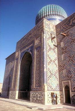 turkestan_khodja yasawi mausoleum_portal_4