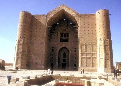 turkestan_khodja yasawi mausoleum_unfinished portal