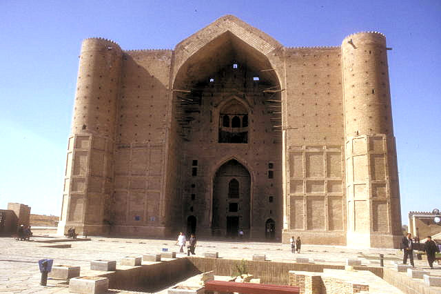 turkestan_khodja yasawi mausoleum_unfinished portal