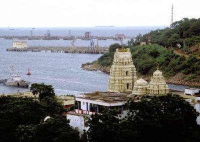 visakhaptnam_harbor and krishna temple