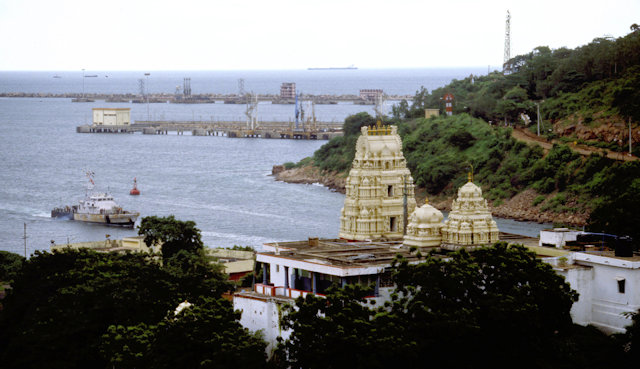 visakhaptnam_harbor and krishna temple