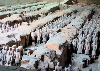 xian_tomb of qin shi huangdi_terra cotta army_1