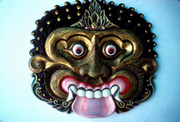 yogyakarta_kraton_demon mask