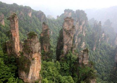 zhangjiajie_tianzi shan_1