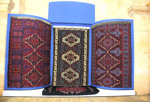 derbent_armenian church_carpet exhibition